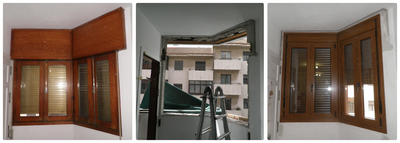 Ventanas de esquina realizadas en PVC