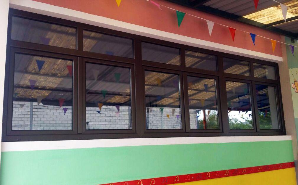 Cambio de ventanas en Tenerife