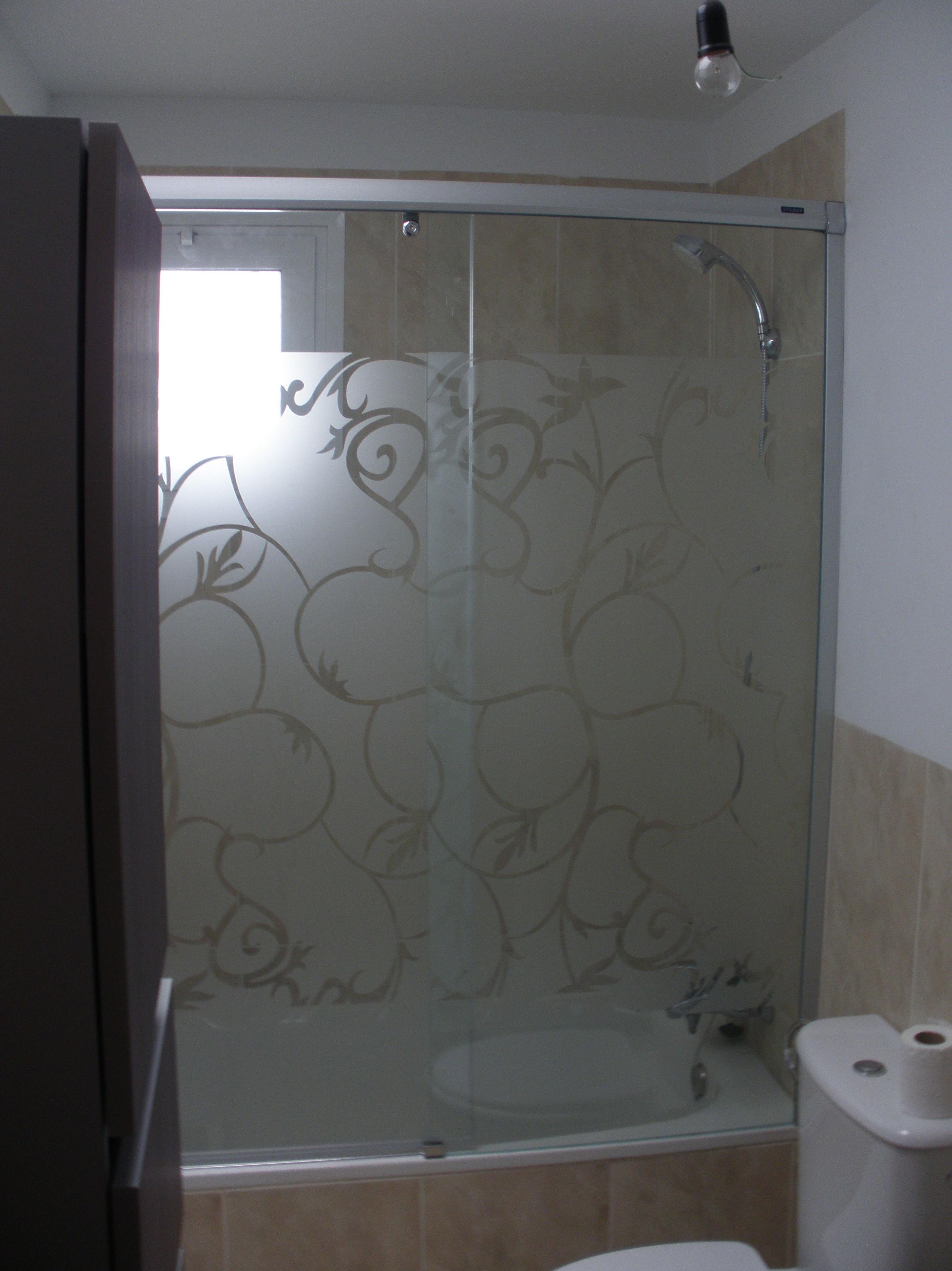 Mampara de aluminio para bañera