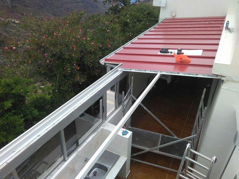 Cerramiento de terrazas en Tenerife