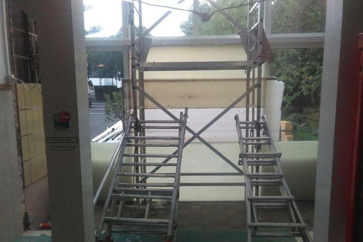 Trabajos de carpintería de PVC