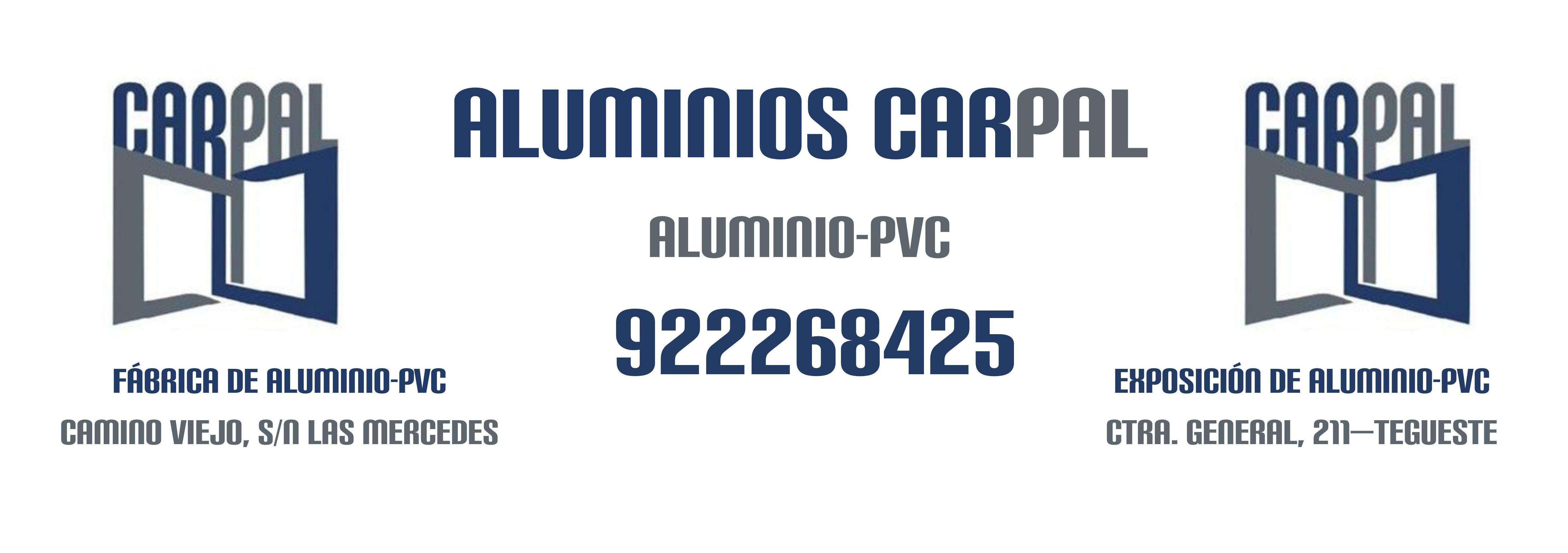 FABRICA ALUMINIOS CARPAL: ALUMINIO - PVC de ALUMINIOS CARPAL