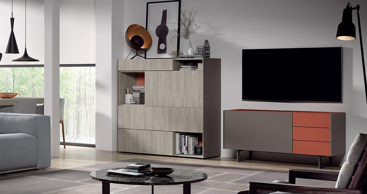 Mueble moderno de salón en Getafe