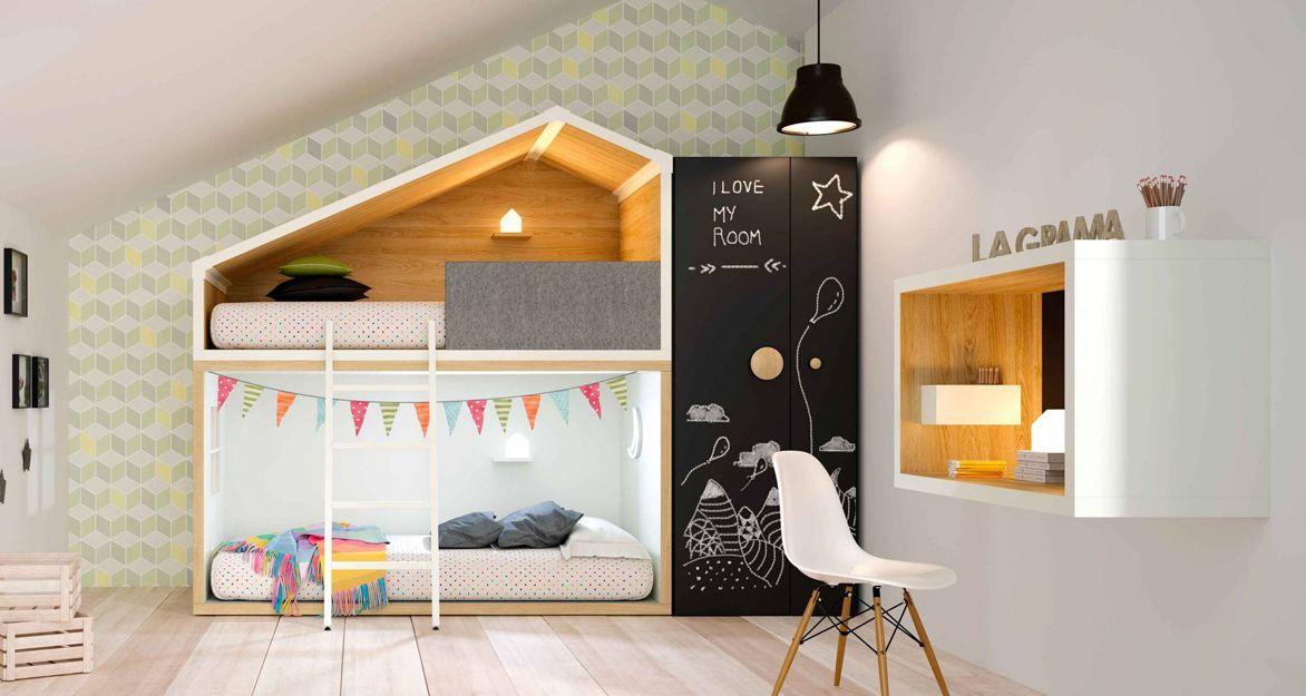 Literas para dormitorios juveniles en Getafe