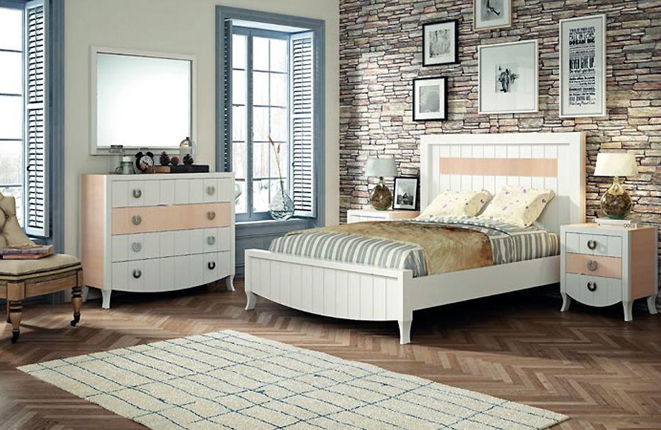 Dormitorio rústico y colonial en Getafe
