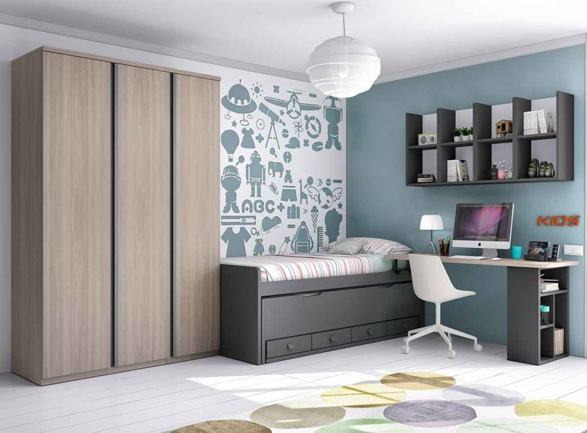 Dormitorios juveniles en Getafe