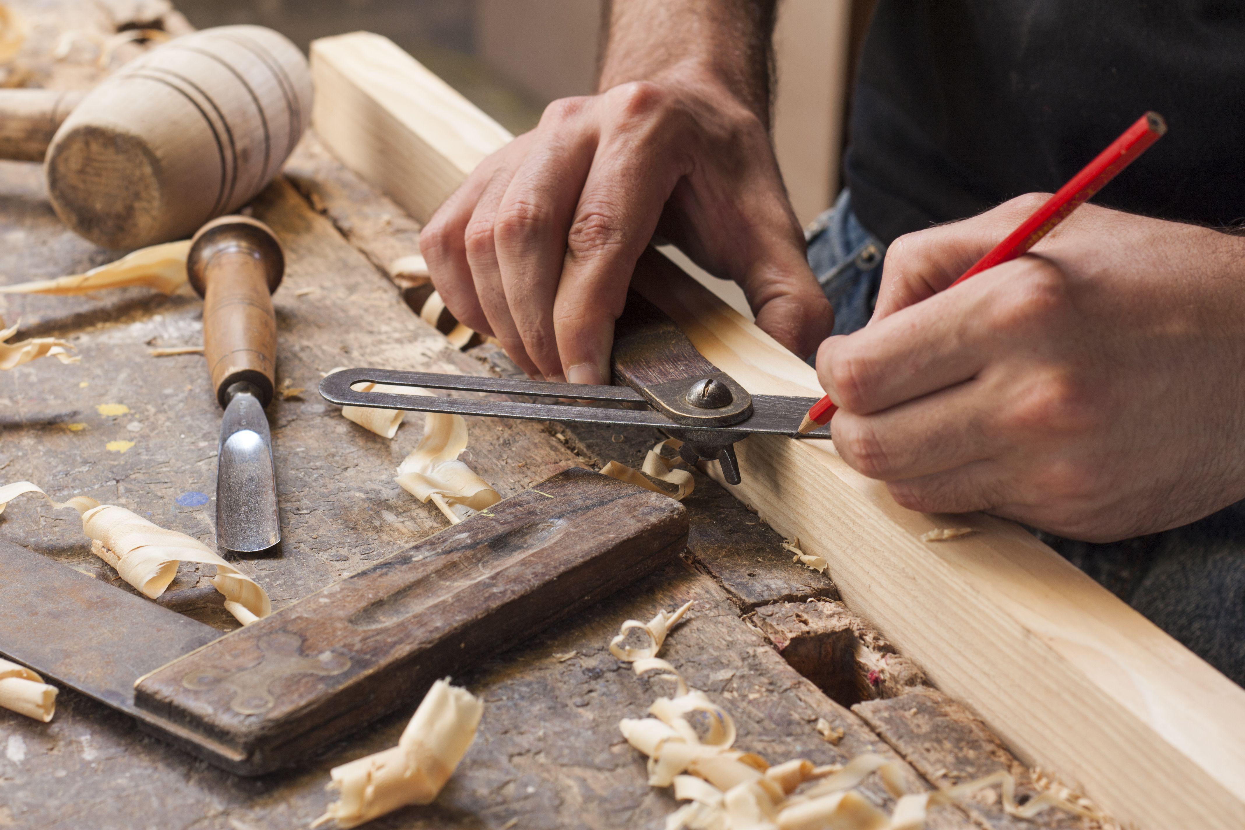 Trabajos en carpintería de madera