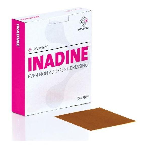 Inadine aposito antimicrobiano con Iodopovidona