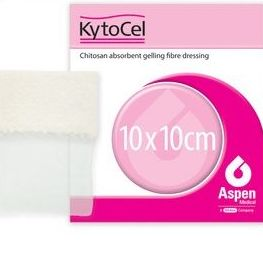 Kytocel Apósito desbridante antimicrobiano de fibras de quitosán 10x1: Productos de Parafarmic