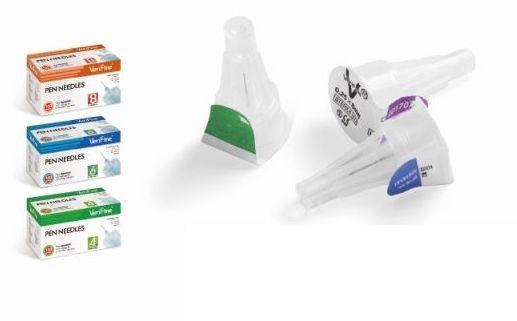 agujas para pluma de insulina Verifine