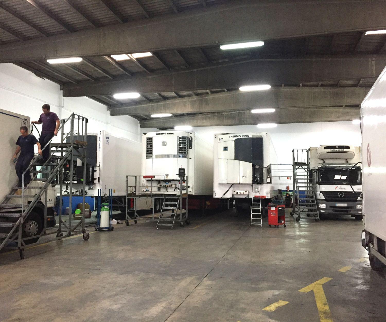 Equipos frigoríficos para aire acondicionado en Valencia
