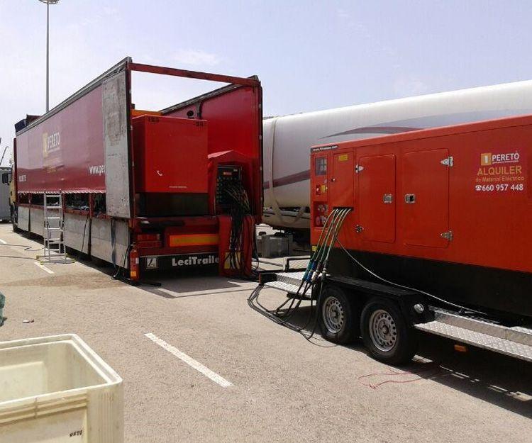 Alquiler de cuadros eléctricos en Valencia