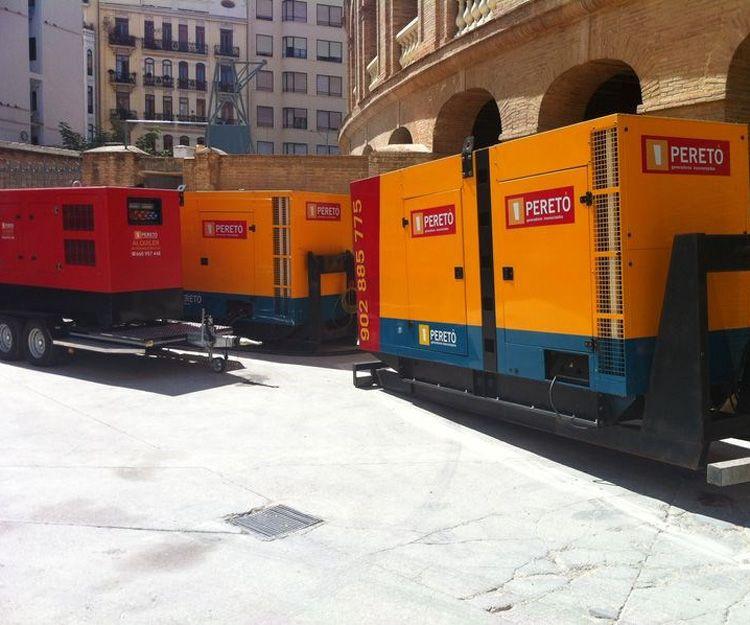 Alquiler de material eléctrico en Valencia