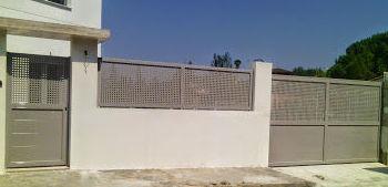 Puertas y Valla Metálicas Galvanizadas Pintadas al horno