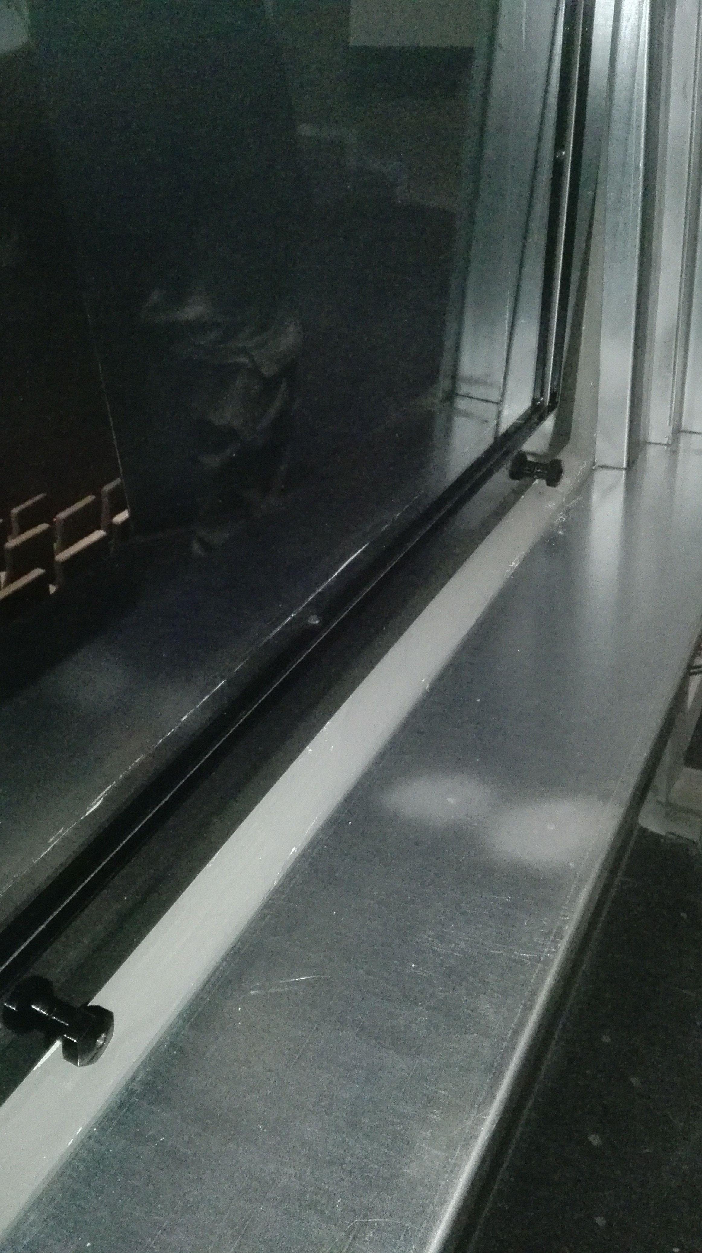 Ventana de guillotina de una hoja contra incendios cortafuegos certificada
