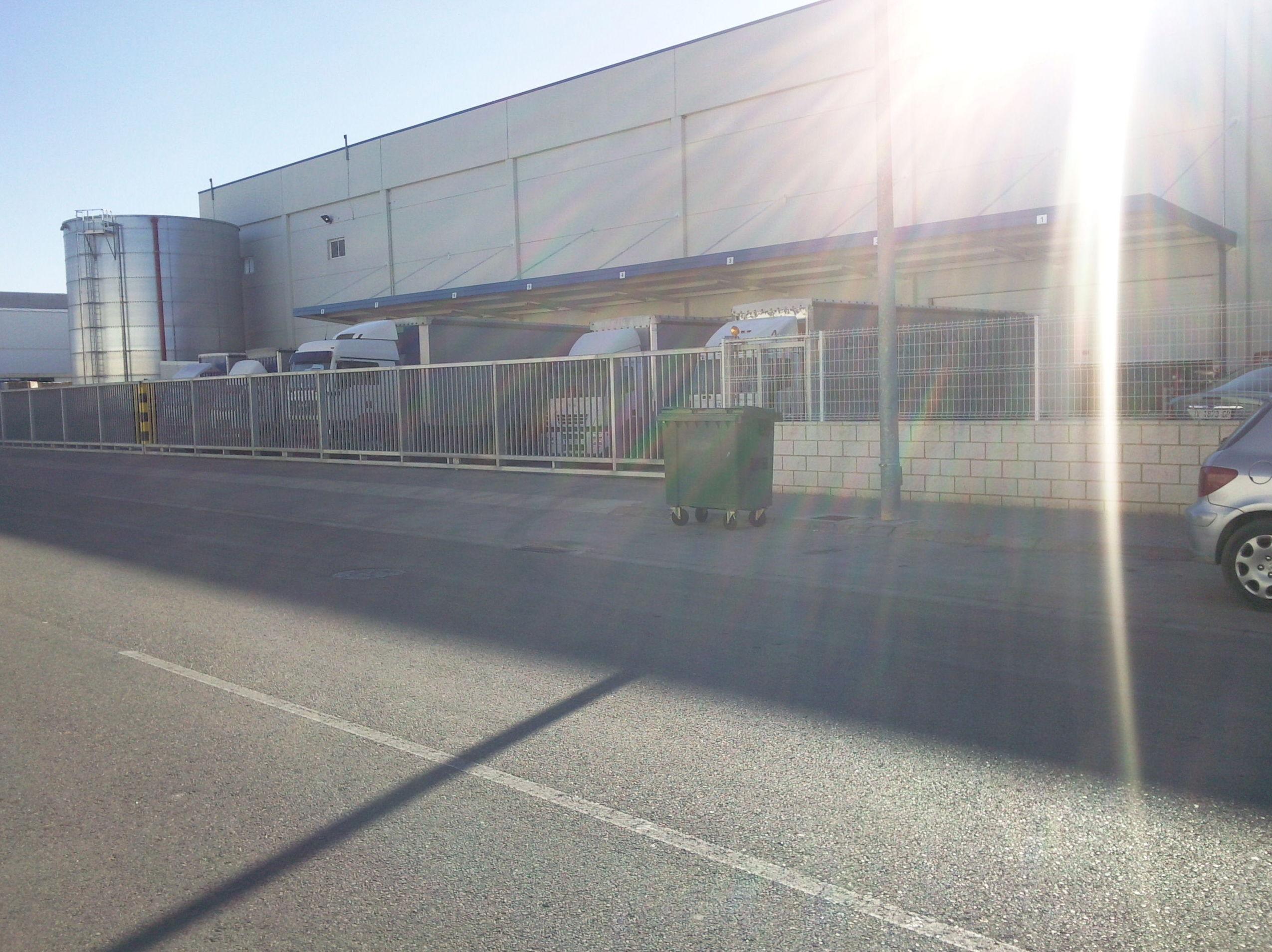 Puerta cancela corredera de barrotes galvanizada grandes dimensiones