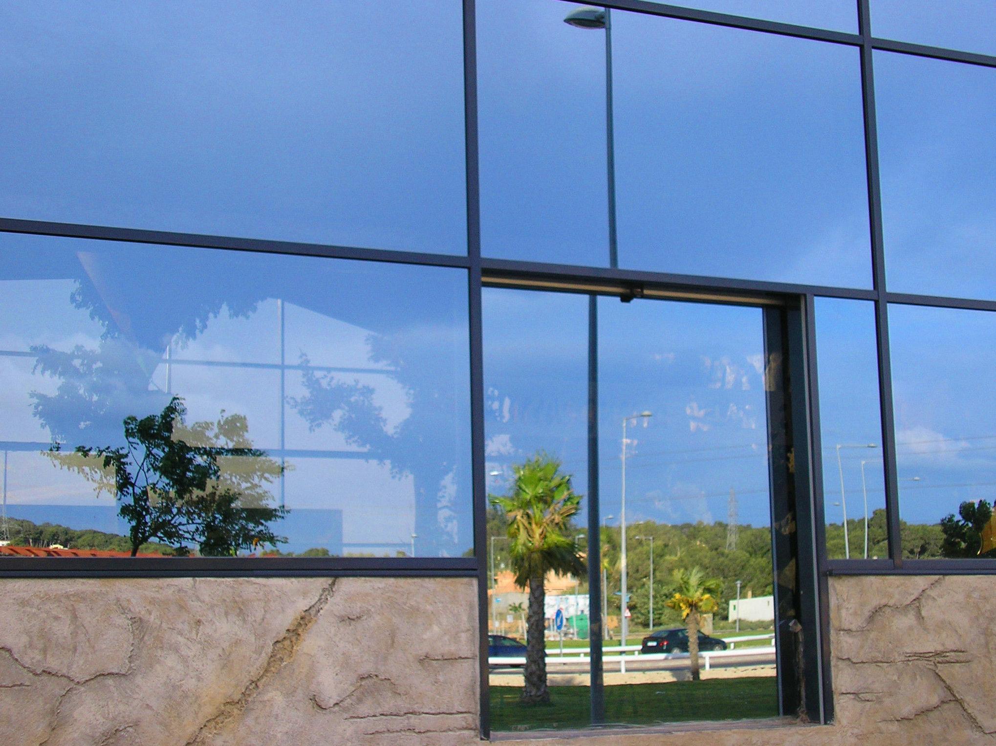 Puerta de Cristal Rápida de 1 Hoja corredera
