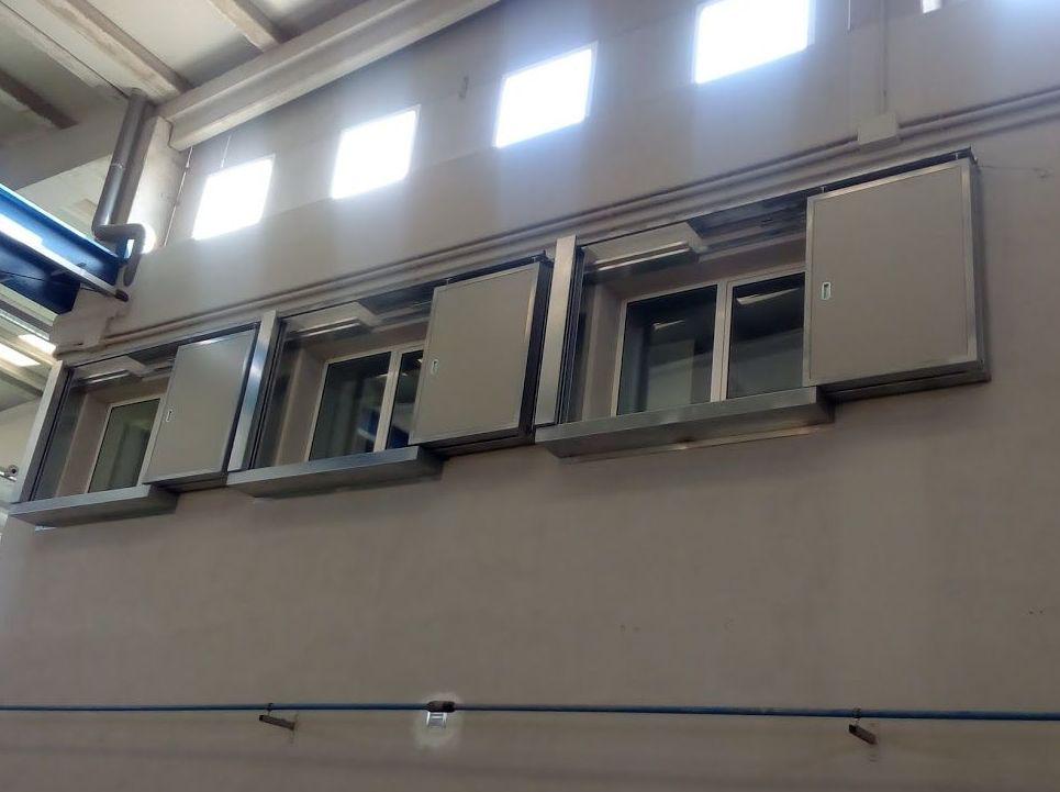 Puertas cortafuegos resistencia 120 minutos certificadas para ventanas
