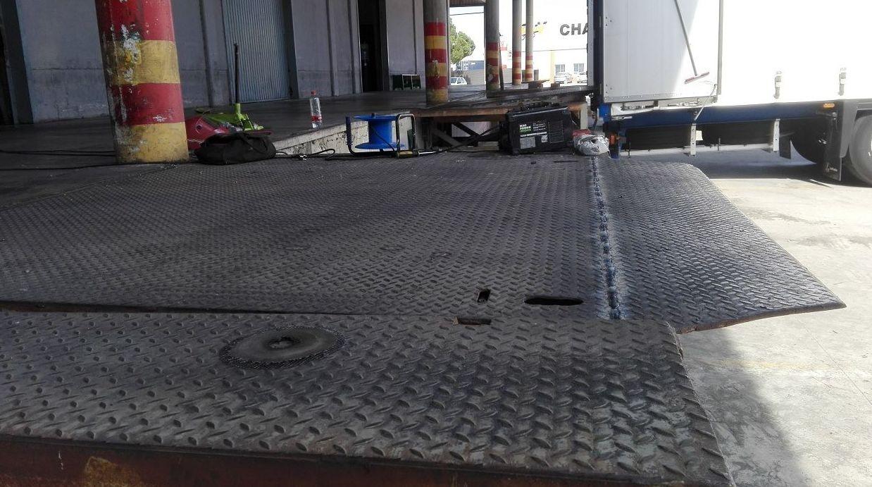 plataforma de carga en Silla plancha enderezada