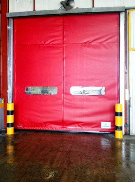 Puerta Rápida de Lona de Pvc enrollable autorreparable