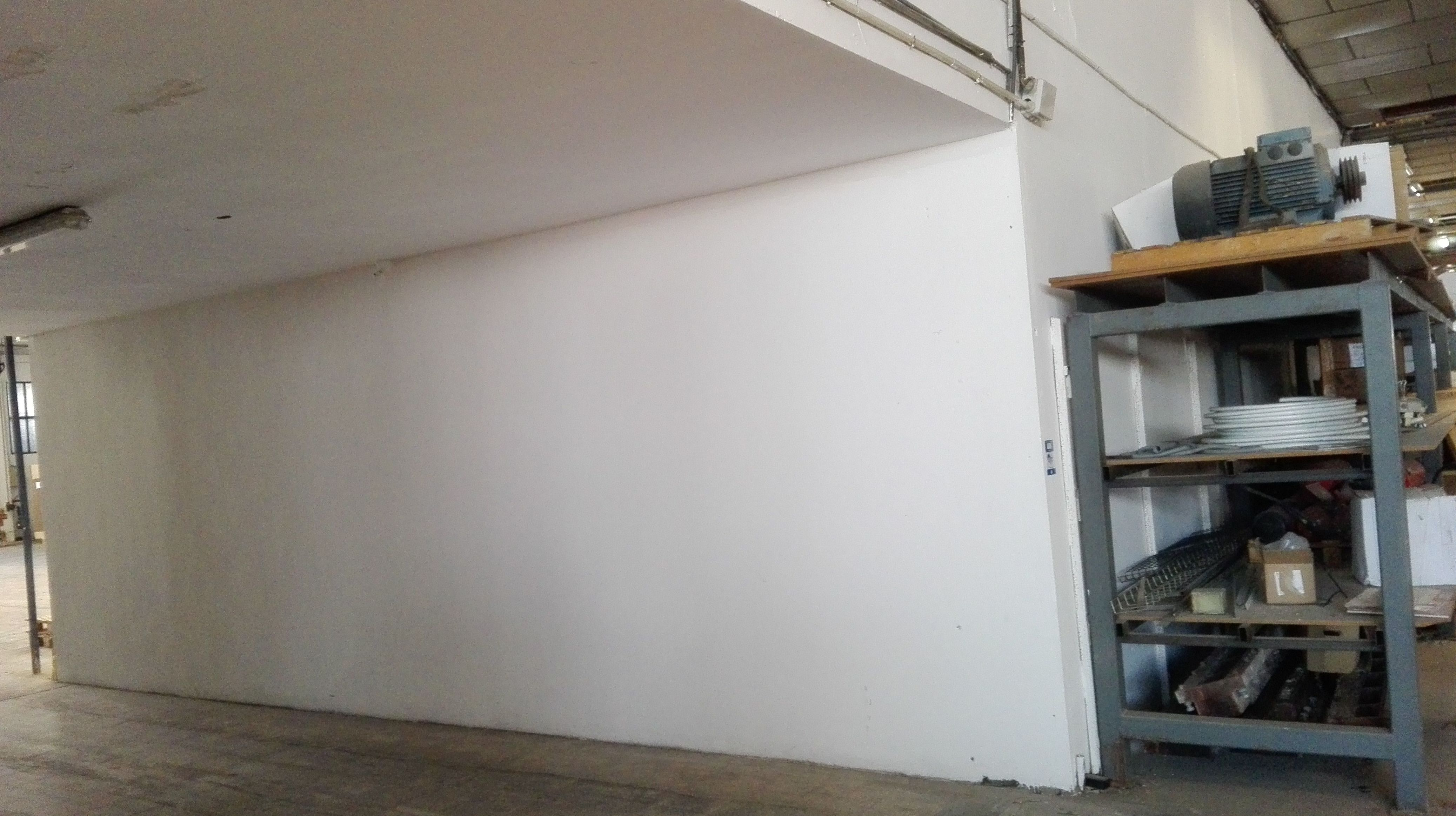 Preparación de hueco para instalación de puerta corredera cortafuegos de 1 hoja 90 minutos