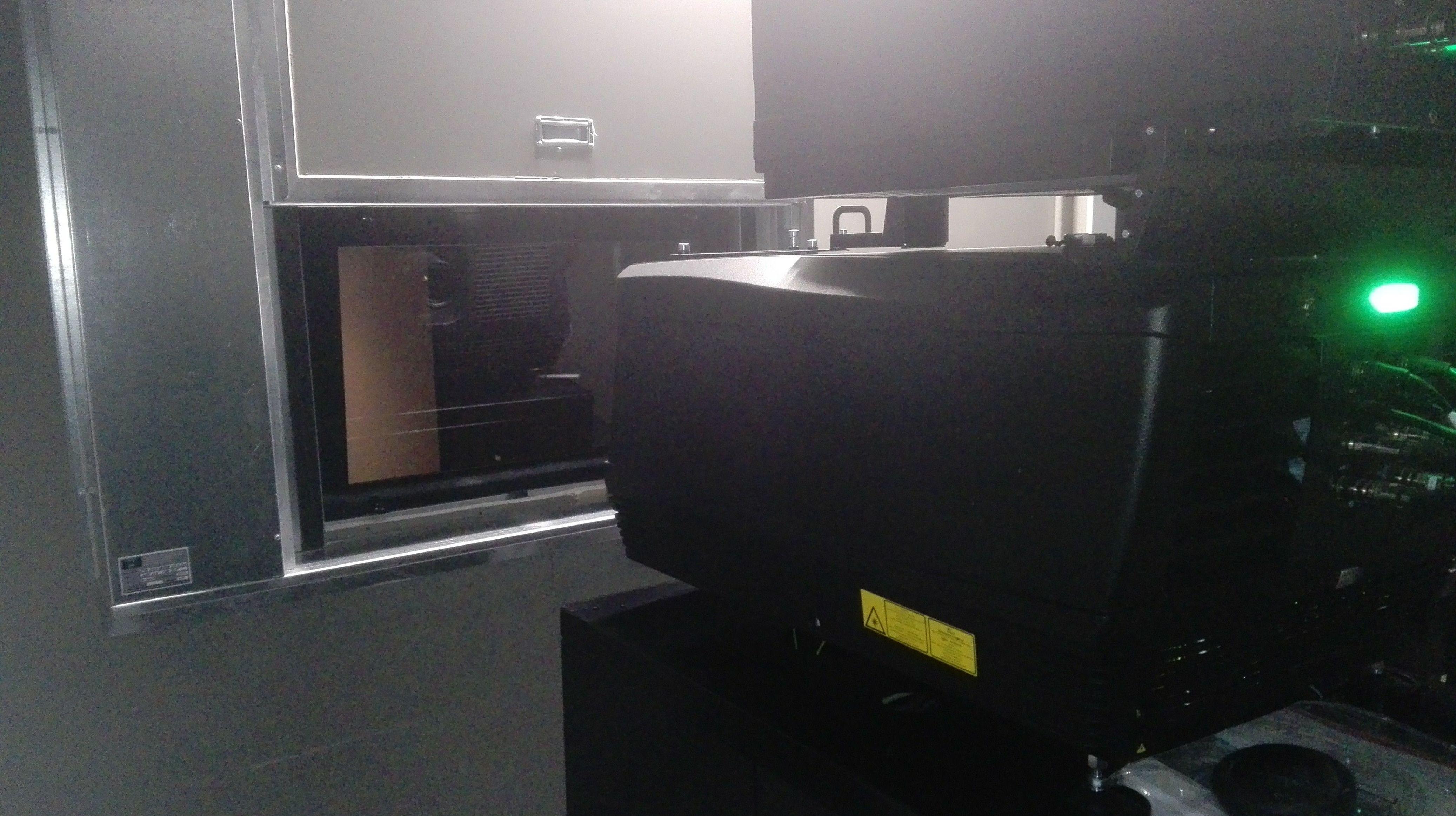 Ventana de guillotina de una hoja contra incendios certificada reproductor de cine