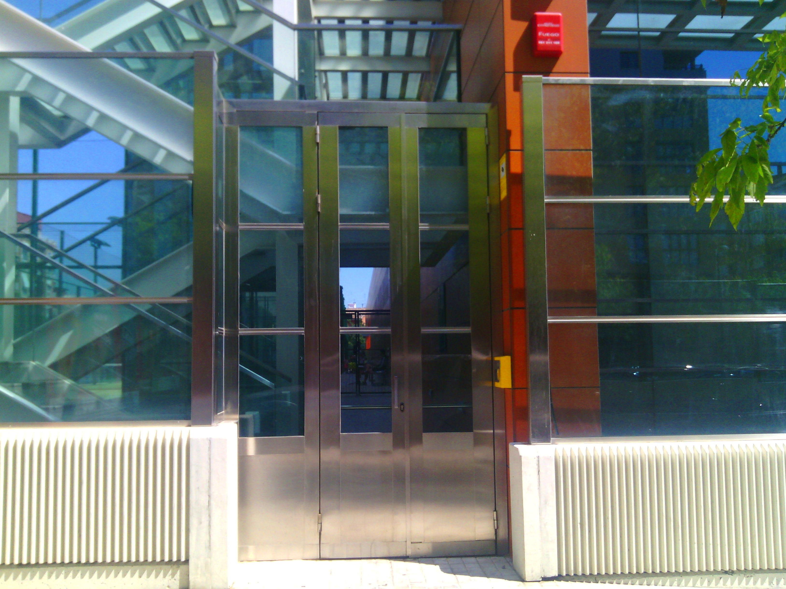 Puerta Doble batiente inoxidable 316