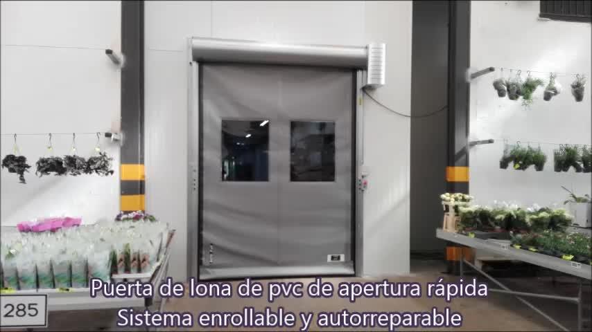 Puerta rápida de lona enrollable autorreparable Farem auto full en Silla Valencia }}