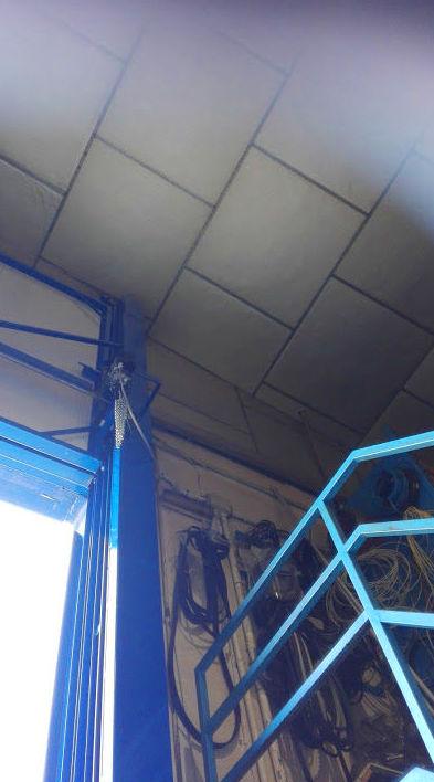 Motor Puerta automática de guillotina industrial