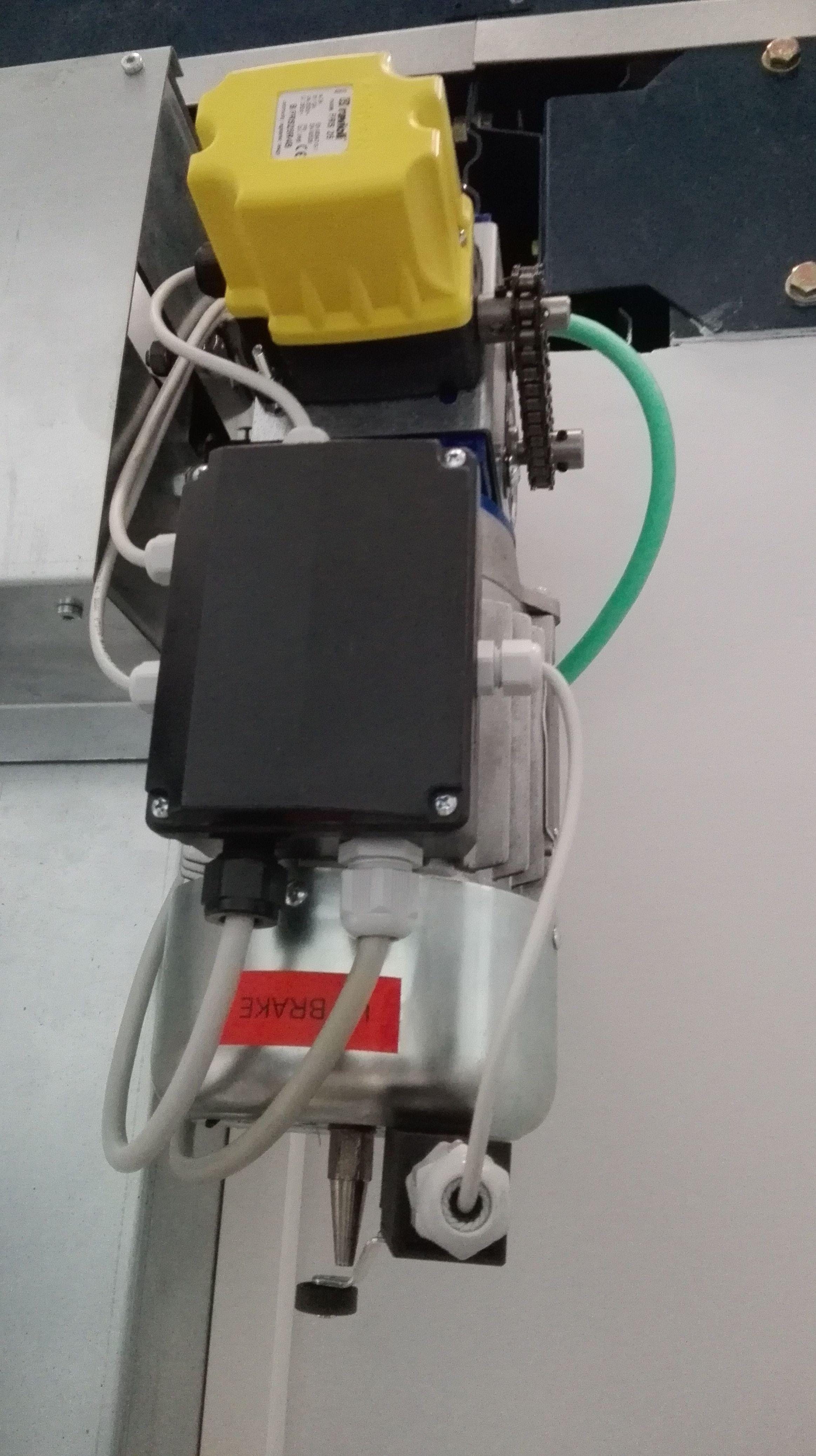 Motor de Puertas rápidas de pvc para laboratorios