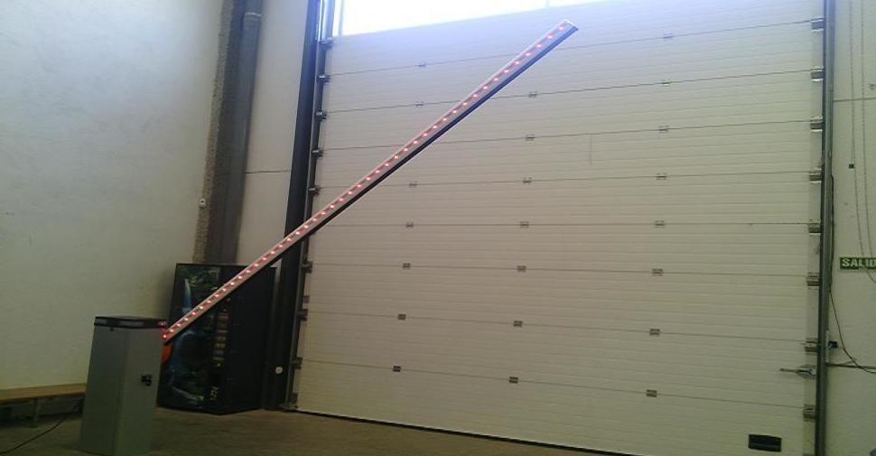 Barrera automática de aparcamiento