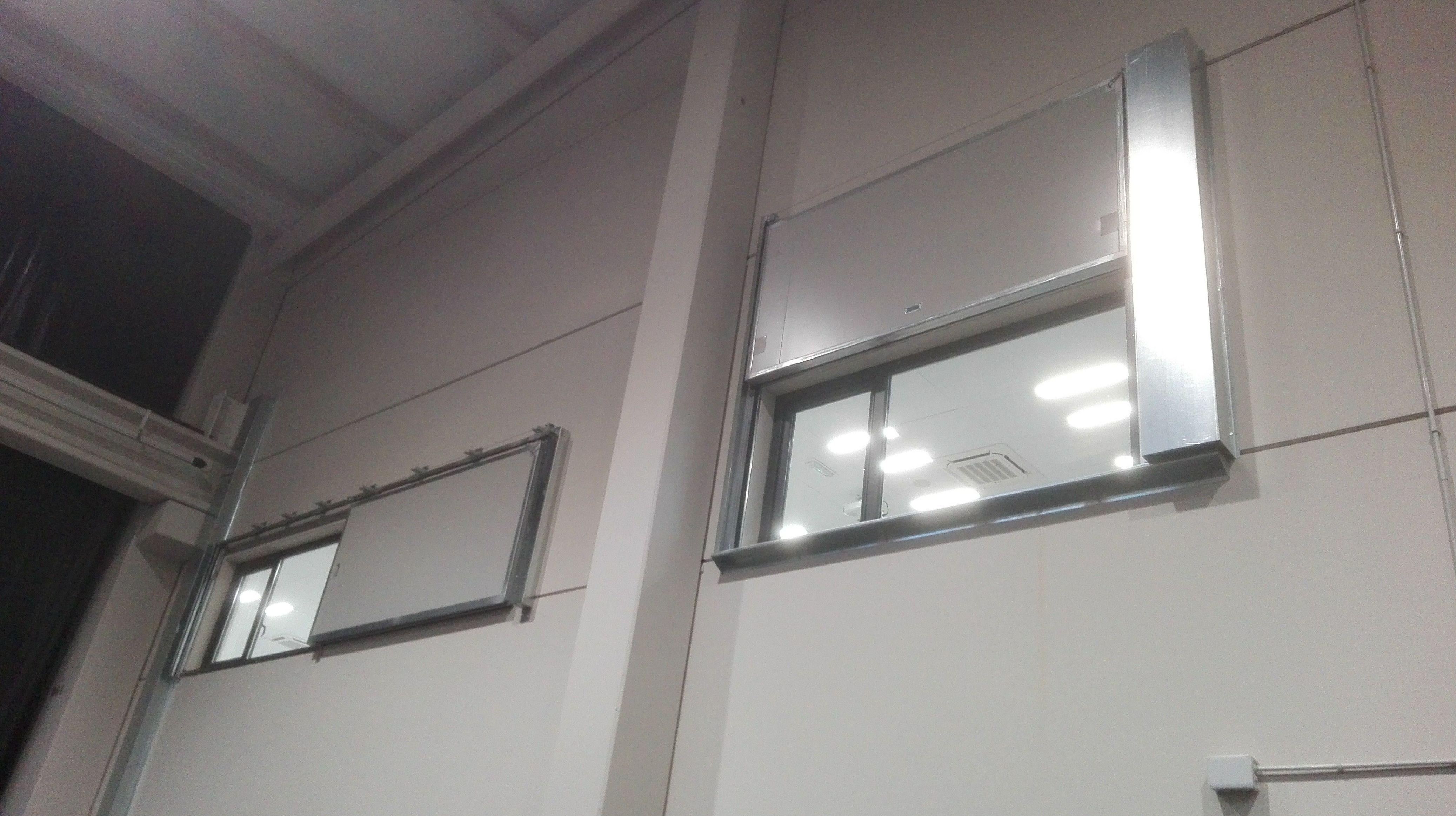 Puerta Corredera y guillotina tipo ventana cortafuegos EI260 Santander