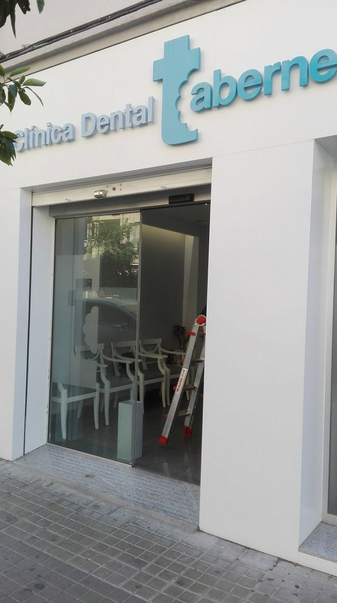 Puerta de cristal automática corredera Farem Rex