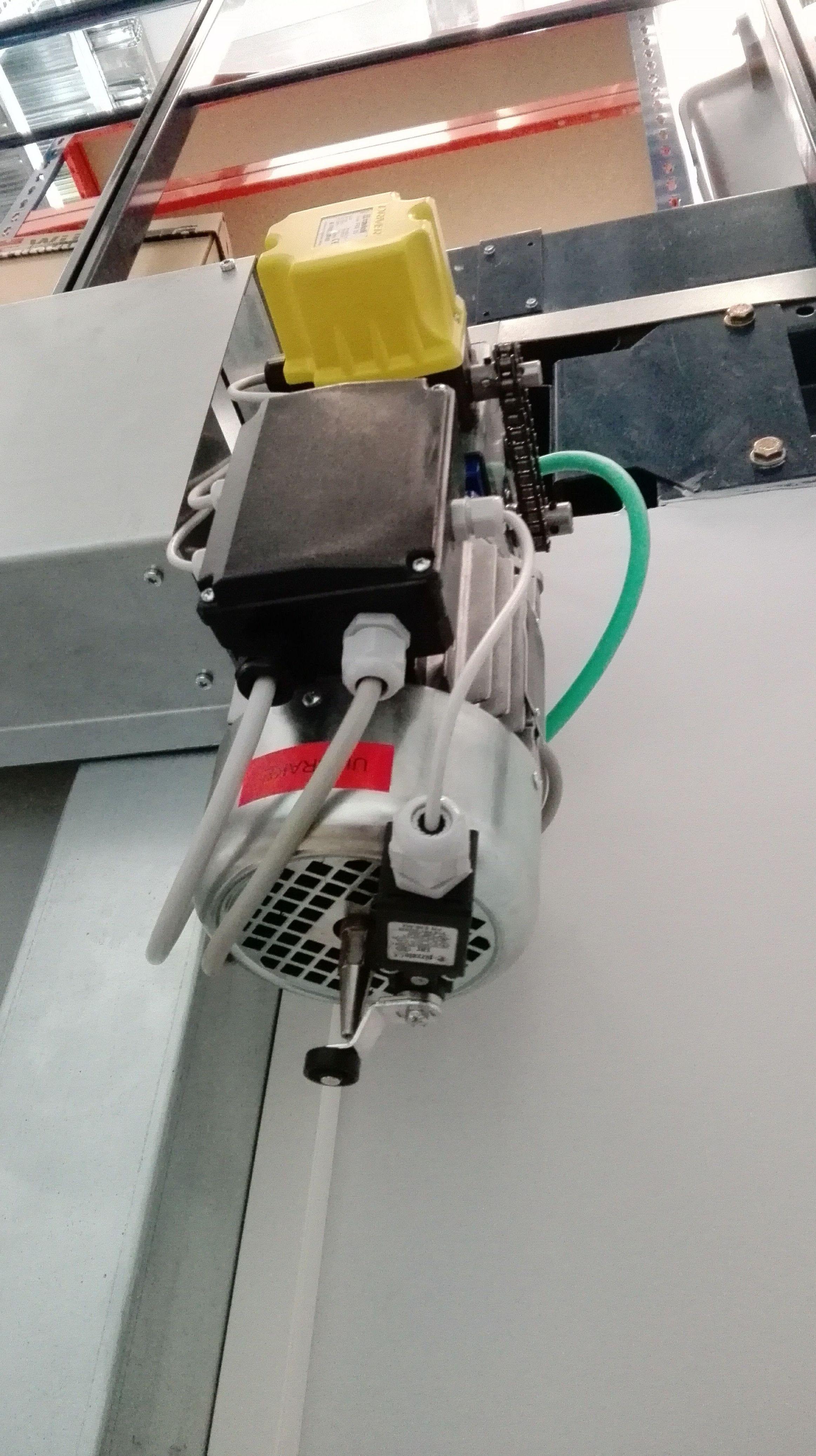 Motor de Puerta rápida de pvc para laboratorios