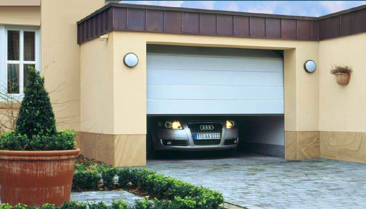 Puerta seccional automática