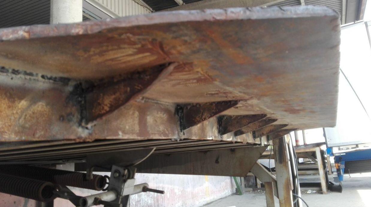 Muelle de carga 12 toneladas en Silla reforzado apoyo