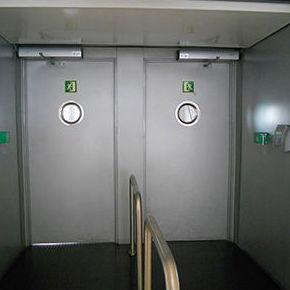 Puerta cortafuegos batiente acústica  RF ACUS EI120 32db