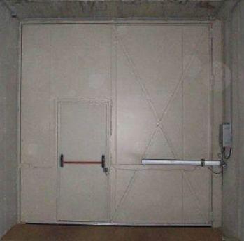 Puertas Batientes cortafuegos automáticas de grandes dimensiones
