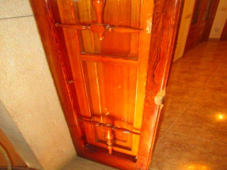 Arreglo de Marco Puerta de madera mobila