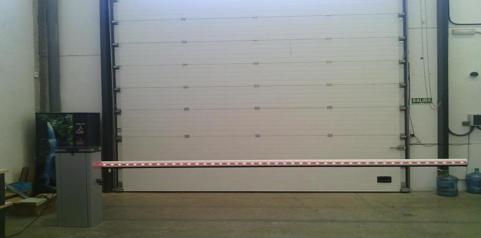Barreras automáticas de aparcamientos