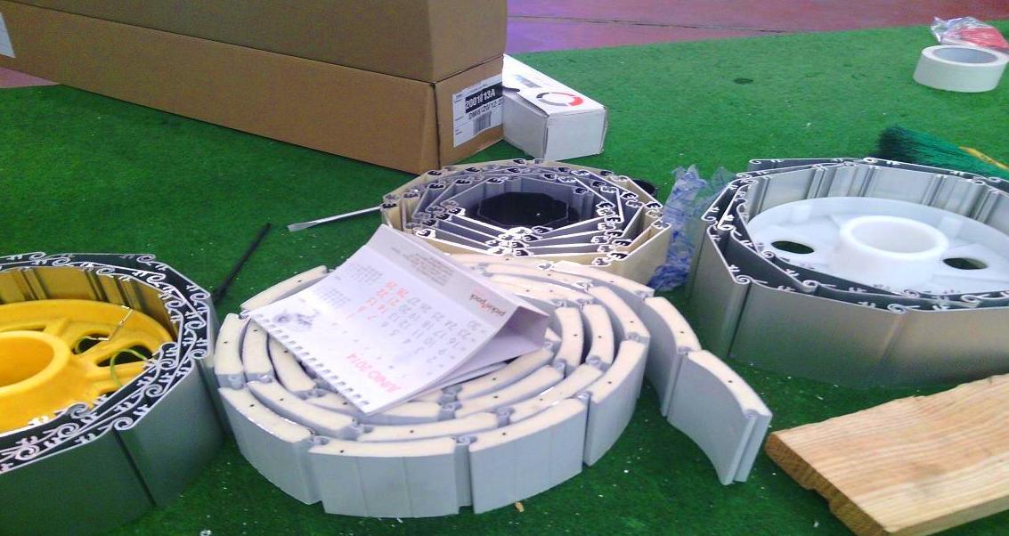 Modelos de lamas de persianas de aluminio