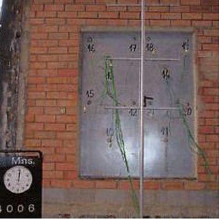 Puerta batiente cortafuegos ensayos para certificación