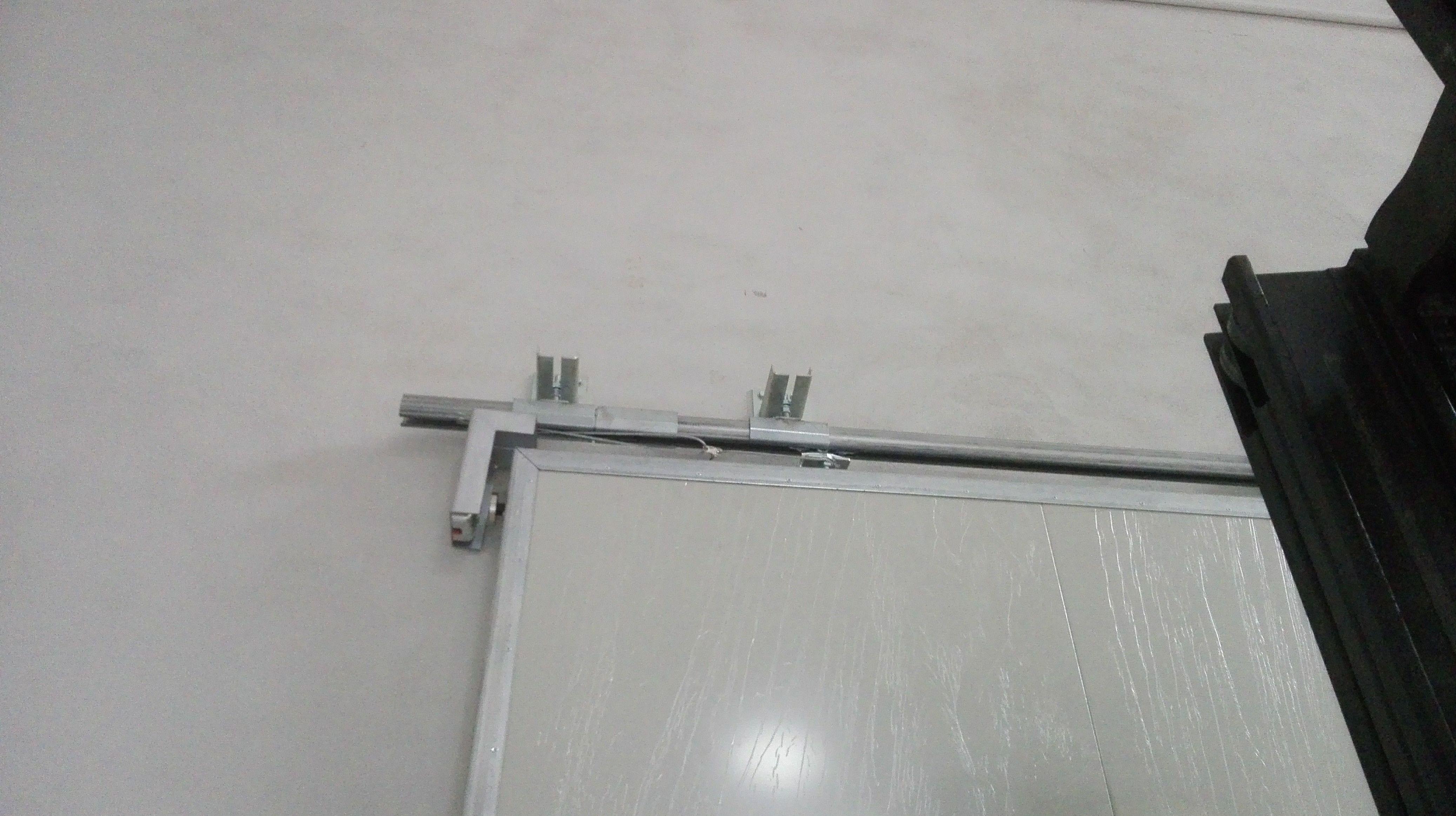 Puerta corredera cortafuegos de 1 hoja sujeción por electro imán
