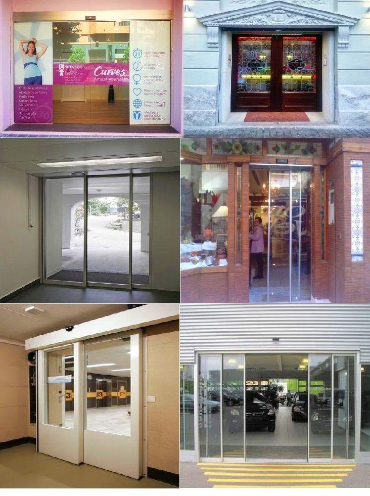 Puertas de cristal automáticas correderas