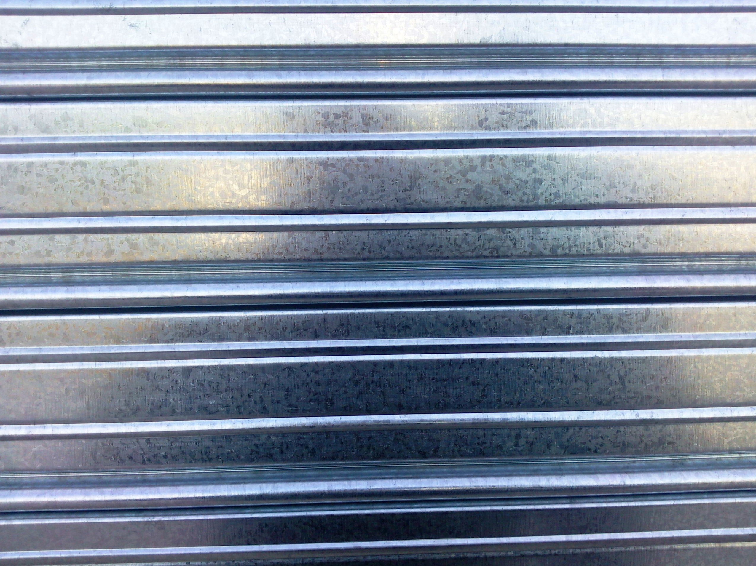 Lama galvanizada de puerta enrollable