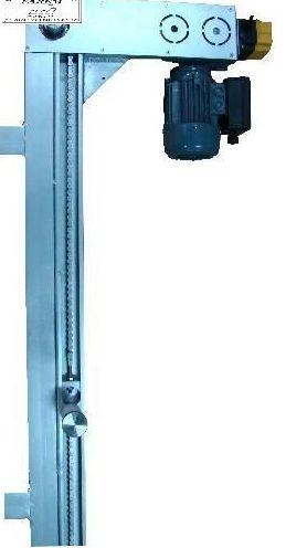 Motor de tiro de cadena para puertas de contrapesos y guillotinas