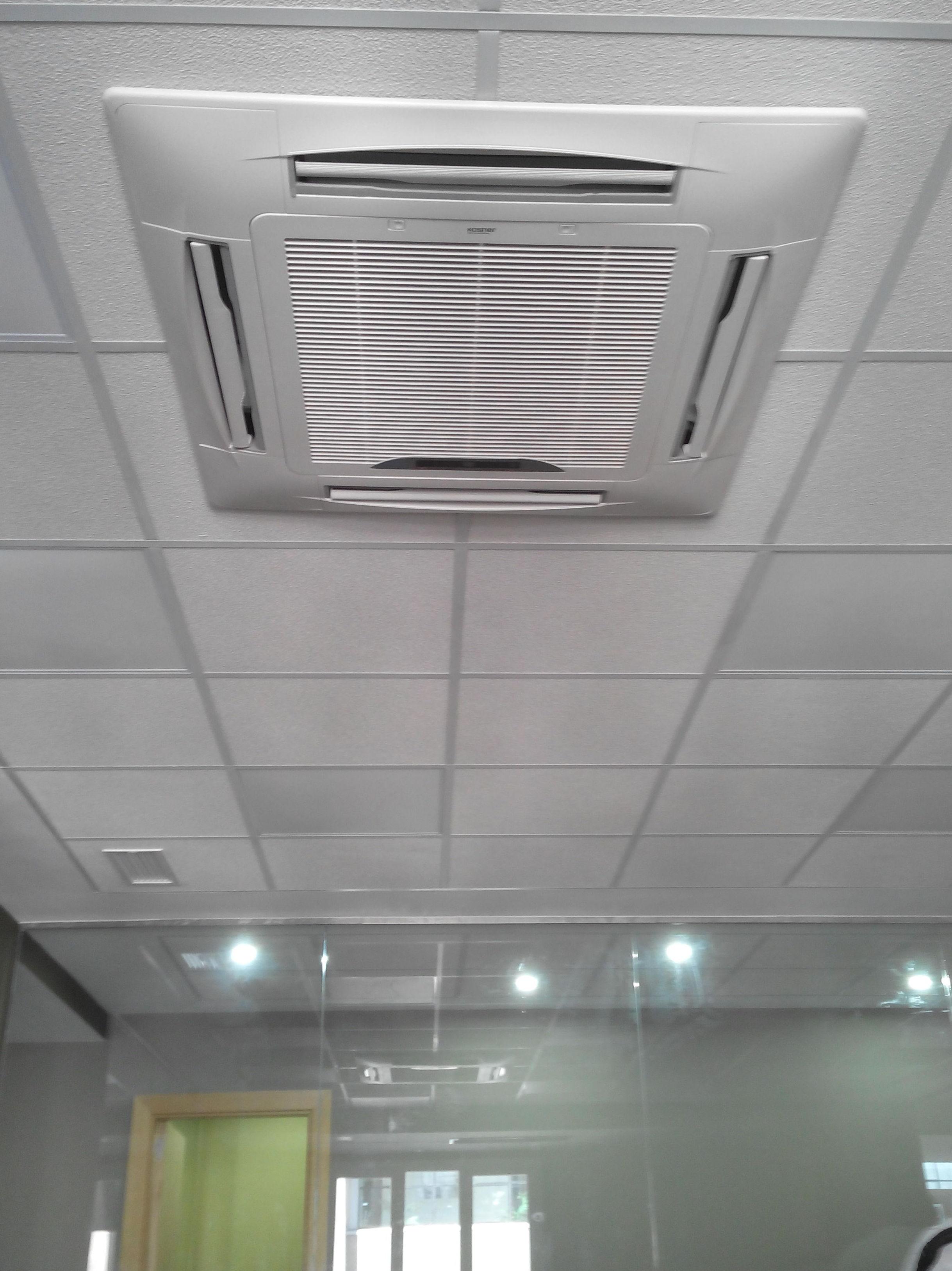 Climatización oficina