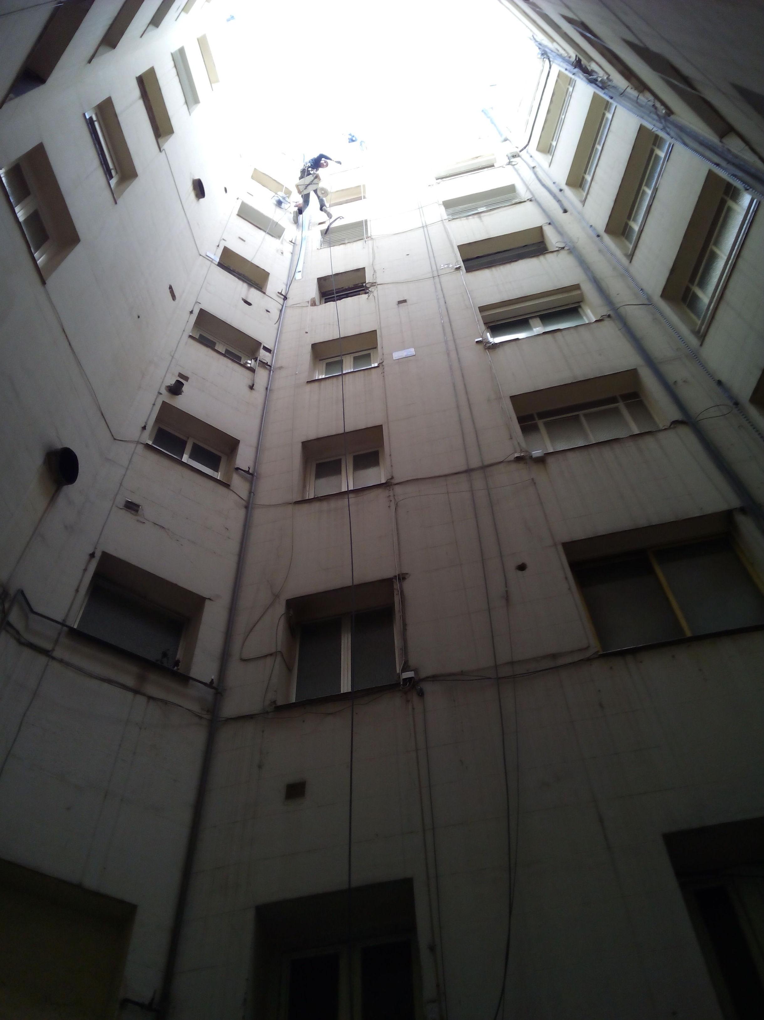Trabajos verticales climatización