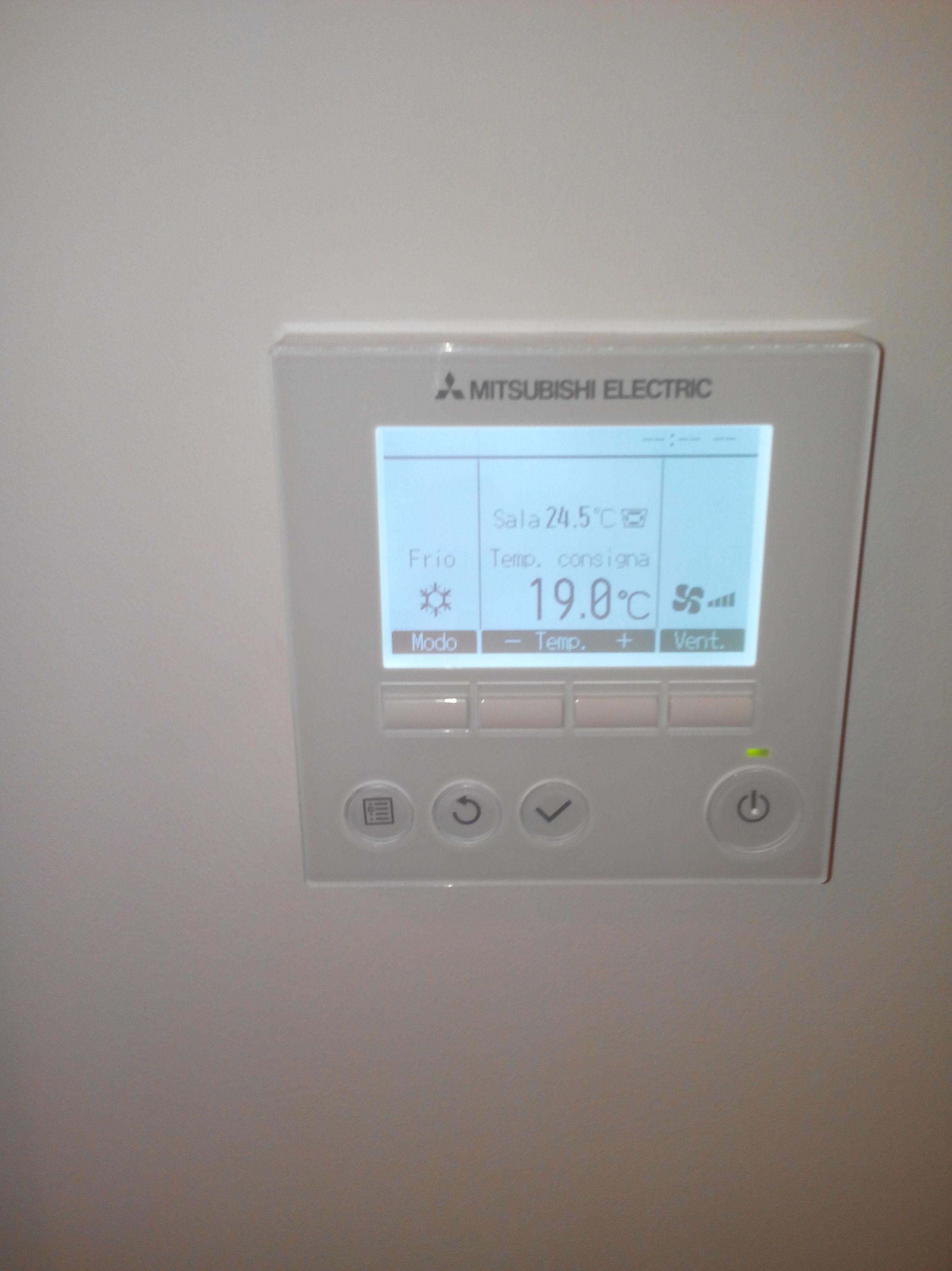 Termostato aire acondicionado Mitsubishi Electric PAR-31MAA