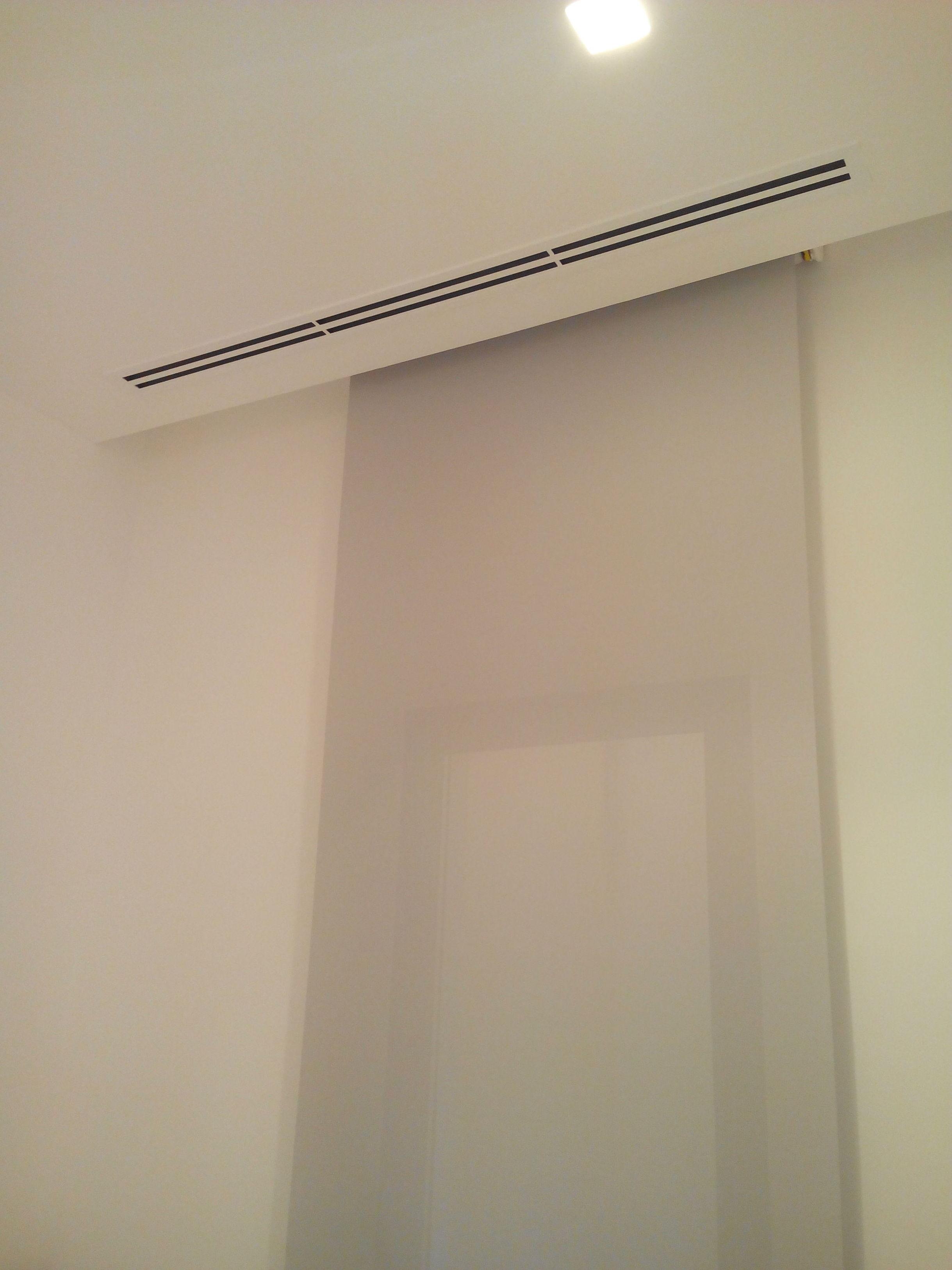 Aire acondicionado - Difusor lineal de dos vías en dormitorio